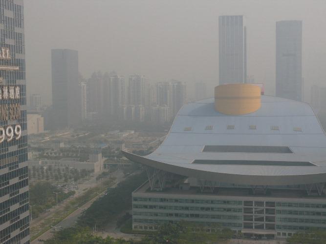 Shenzhen6- pollution
