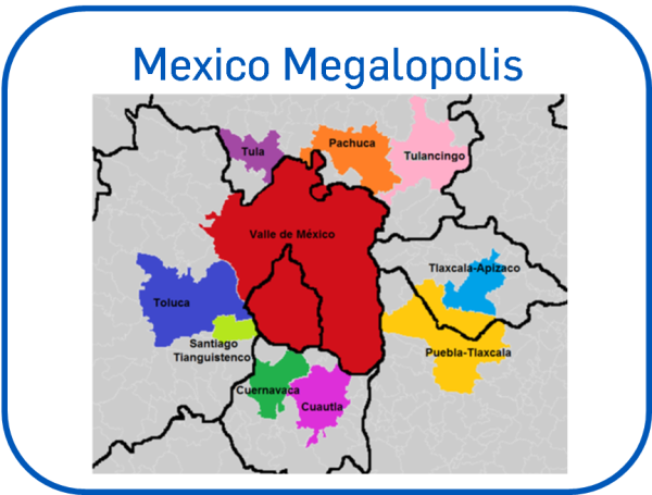 Great Central Megalopolis of Mexico